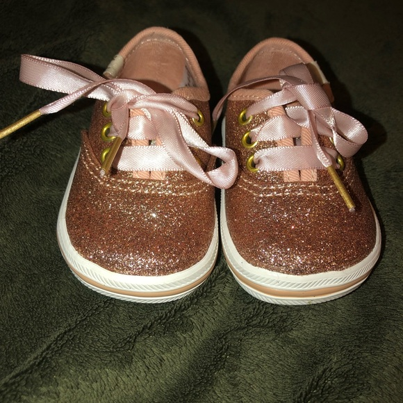 76fee001c95d kate spade Shoes | Baby Keds By Size 1 Glitter Rose Gold | Poshmark